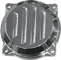 CV carburetor chrome cover