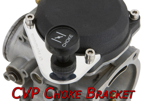 CVP Choke Bracket for Harley Carburetor